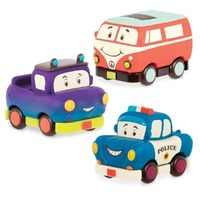 MINI WHEEE-LS! 3 PACK VAN & CARS