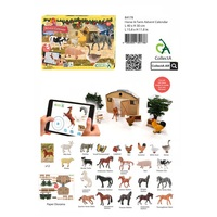 ADVENT CALENDAR - FARM INCL HORSES