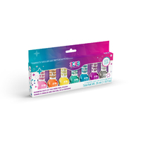 RAINBOW BRIGHT DAYS OF THE WEEK NAIL POLISH 7 PK